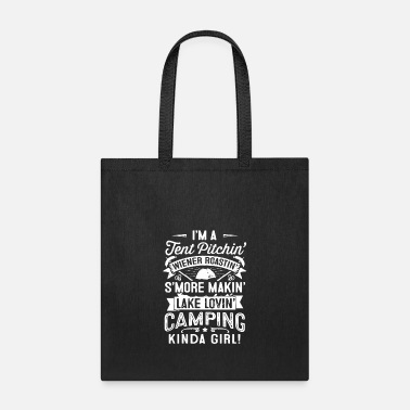 Lovely LOVE LOVE LOVE CAMPING - Tote Bag