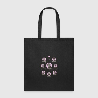 The Royal Tenenbaums Extended Family Tree - Tote Bag