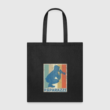 Retro Vintage Style Photographer Photography Photo - Tote Bag
