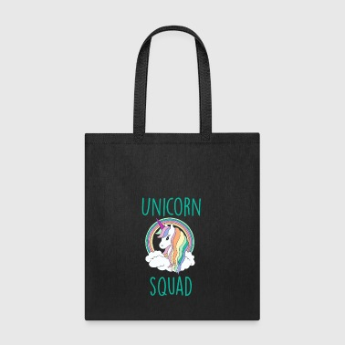 Unicorn Unicorn Squad Cute Funny Unicorn - Tote Bag