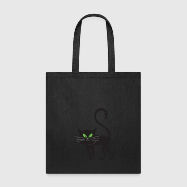 Cat Halloween Monster Zombie Horror - Tote Bag