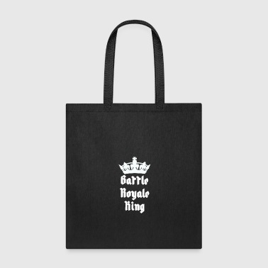 Battle Royale King with crown - Tote Bag