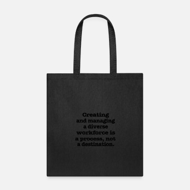 Machine Creating and - Tote Bag