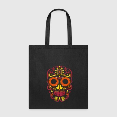 Skull sugar skull day of the dead - Tote Bag