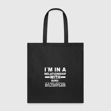 Birdwatching relationship with BIRDWATCHING - Tote Bag
