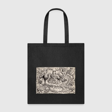Feline Temple - Tote Bag