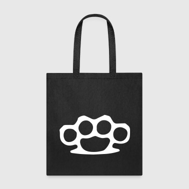 Brass Knuckles Violence - Tote Bag