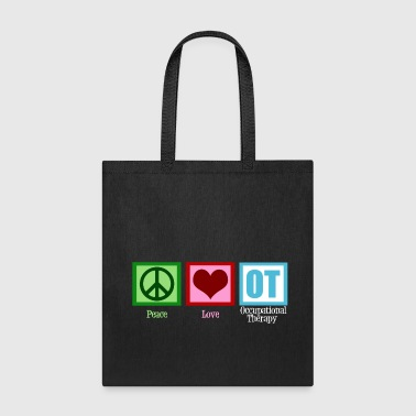 Peace Love Occupational Therapy - Tote Bag