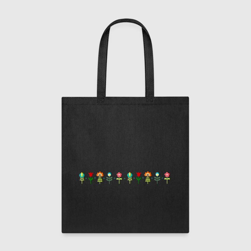 Folk traditional flowers - Tote Bag