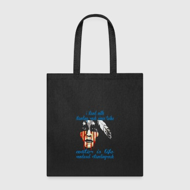 Stand STAND WITH STANDING ROCK NODAPL - Tote Bag