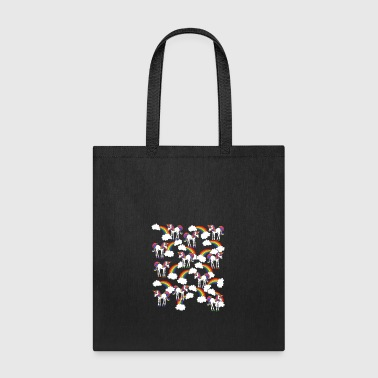 Unicorn Rainbow Gift Shirt Preminium - Tote Bag