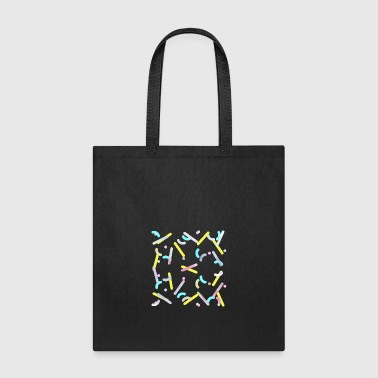 Dance of molecules - Tote Bag