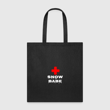 Ski Lift Snow Babe - Tote Bag