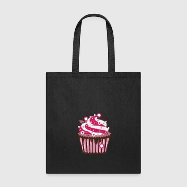 A cupcake with frosting - Tote Bag