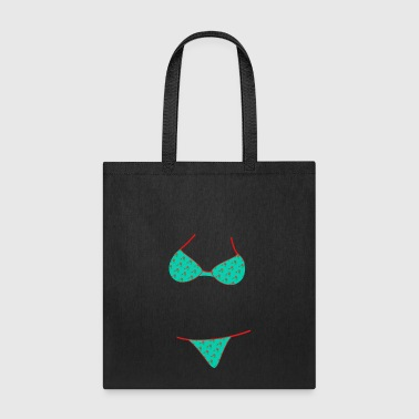 Bikini Top Underwear Bra BH Cleavage Gift Present - Tote Bag