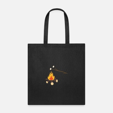 Marshmallow Campfire with marshmallows - Tote Bag