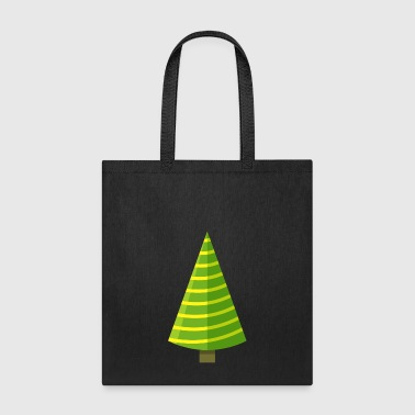 Fir Christmas tree spruce New Year vector image - Tote Bag