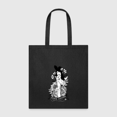 Tattooed Bunny Animal - Tote Bag