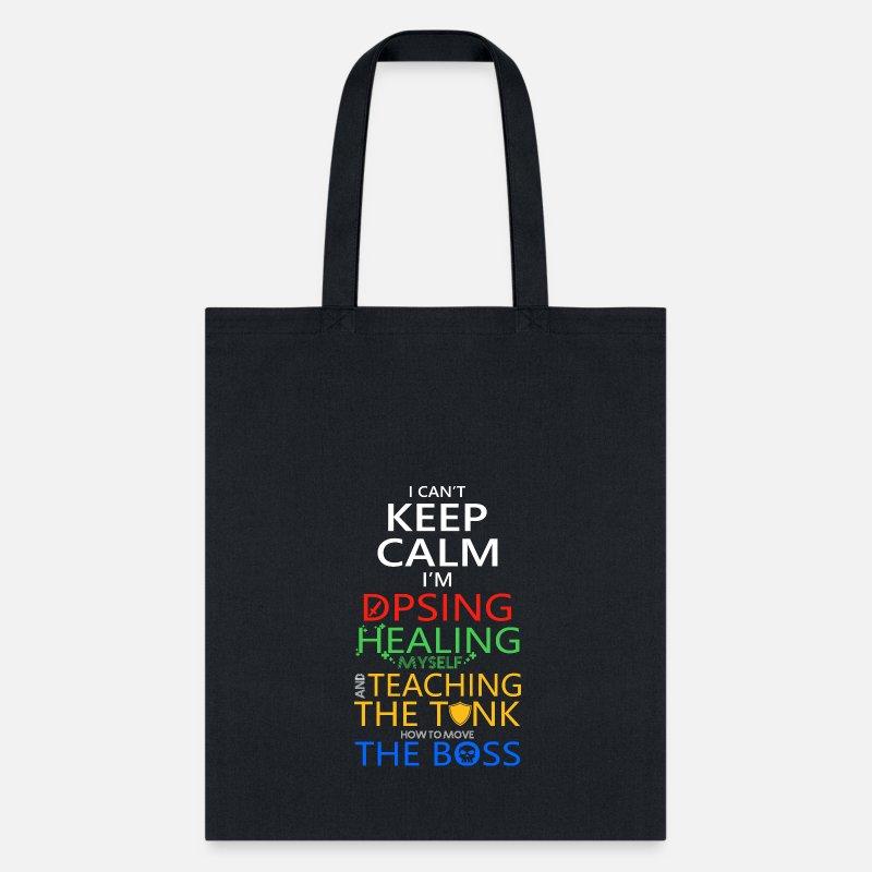 Teaching Bags Backpacks Keep Calm I M Dpsing Healing The Tank Tote