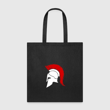Spartacus Spartan white/red - Tote Bag