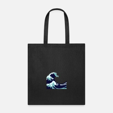 New Wave New Wave Shirt - Tote Bag