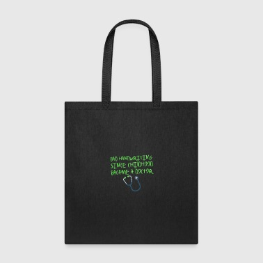 Handwriting Doctor - Bad Handwriting - Tote Bag