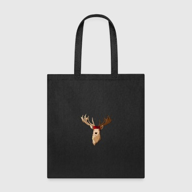 Deer Face With Headband - Tote Bag