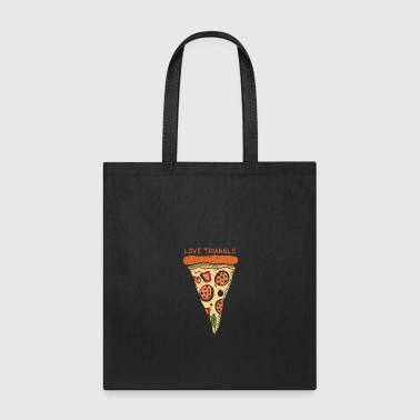 Love Triangle pizza gift christmas lover - Tote Bag
