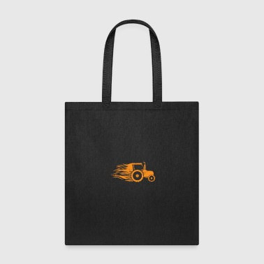 Tractor Fire Long Hair kids christmas gift farmer - Tote Bag