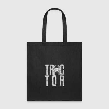 Tractor Gift surprise christmas kids children - Tote Bag