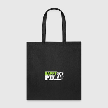Automobile Happy Pill RC toy for men christmas gift kids - Tote Bag