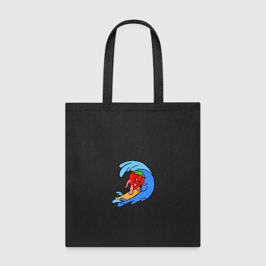 Sporty Strawberry - Tote Bag