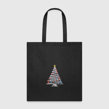 Minimalistic Christmas Tree beautiful art gift - Tote Bag
