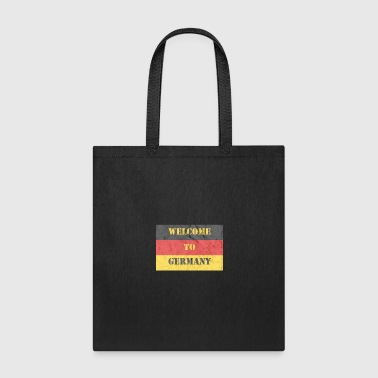 Grunge Welcome To Germany - Tote Bag