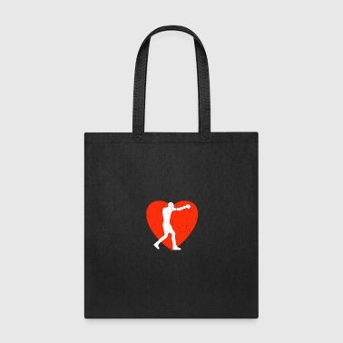 Silhouette Boxing - Tote Bag