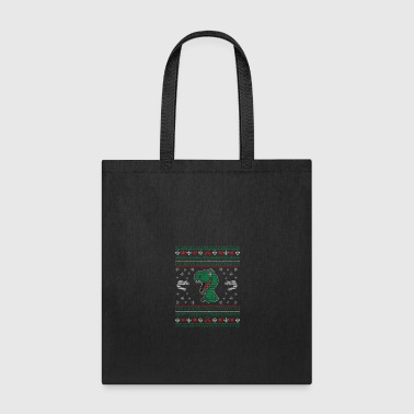 Rudolf Dinosaur ugly sweatergift - Tote Bag