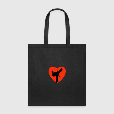 Silhouette HAPKIDO RETRO DESIGN - Tote Bag