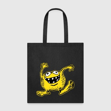 Cuddly Cartoon Monster by Cheerful Madness!!  - Tote Bag