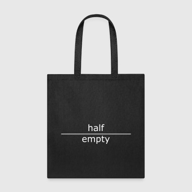 half-empty - Tote Bag