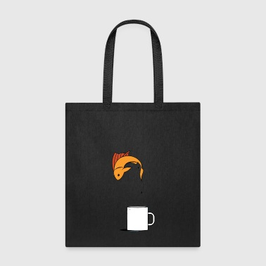 Fish Coffee Cup - Tote Bag