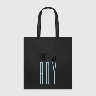 text birthday boy birthday celebrate party anniver - Tote Bag
