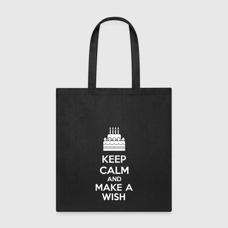 Keep Calm And Make A Wish - Tote Bag