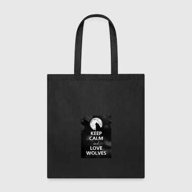 Keep Calm And Be In The Wolf Gang - Tote Bag