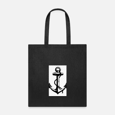 Platinum Platinum Anchor - Tote Bag