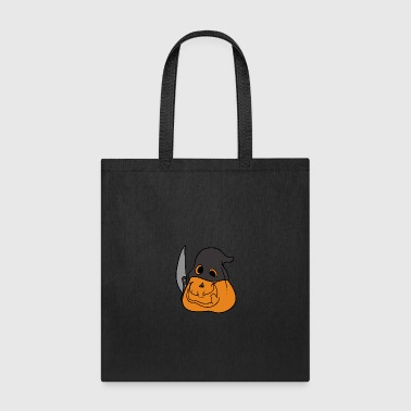 Halloween Pumpkin Horror Monster Zombie Scary - Tote Bag