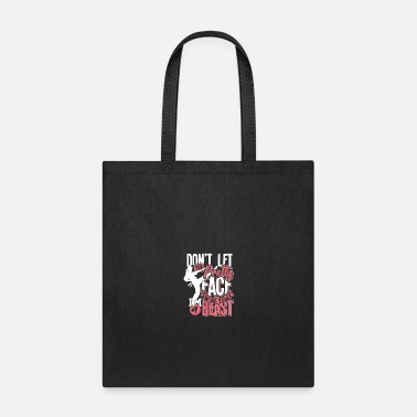 Writing Karate gift martial art Japan China belt - Tote Bag