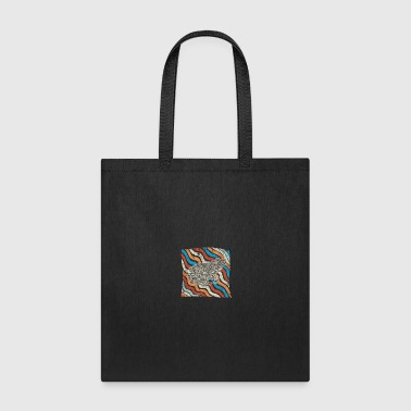 Wellen Linien Frog 03g becomes the agony and from - Tote Bag