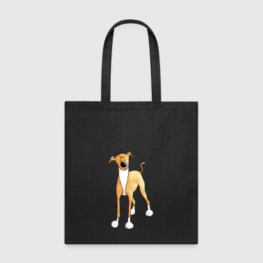 Funny Greyhound - Dog - Dogs - Tote Bag