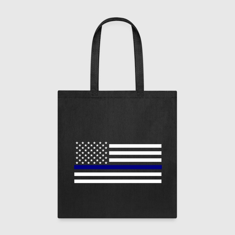 Thin Blue Line - Tote Bag