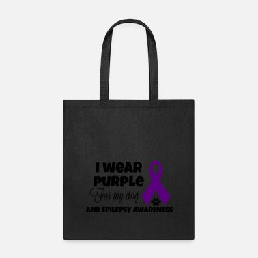 I Wear Purple - Tote Bag